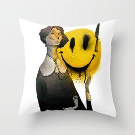 Sadness Throw Pillow