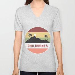 philippines Retro Country Unisex V-Neck