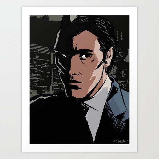 The Hero This City Deserves... Art Print
