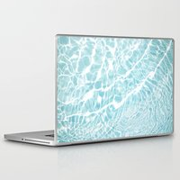 pool Laptop & iPad Skins featuring Pool by Claire Jantzen