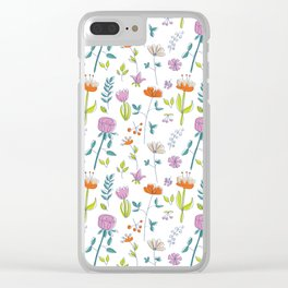 Herbarium Clear iPhone Case