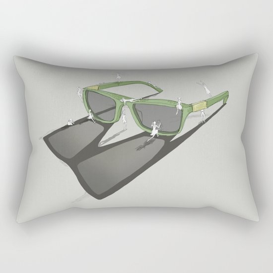 Change your view Rectangular Pillow