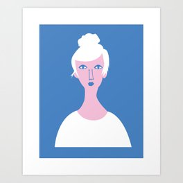 """Mona Lisa Has an Instagram or Whatever"" Art Print"