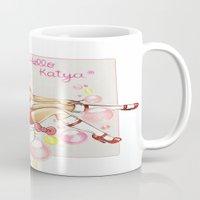 rupaul Mugs featuring Hello Katya by tomatosita