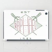 tmnt iPad Cases featuring Raphael TMNT by Tugrul Peker