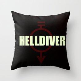Helldiver Throw Pillow