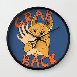 Grab Back Wall Clock