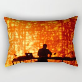 WILD FLAME DEEJAY PROJECTIONS Rectangular Pillow