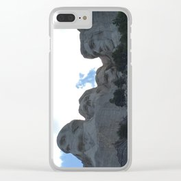 Rushmore Clear iPhone Case
