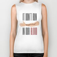 lorde Biker Tanks featuring It Don't Run in Our Blood - Royals by Lorde by Jesus Acosta