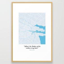 Dublin Framed Art Print