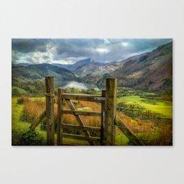 Valley Gate Canvas Print