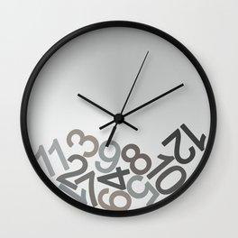 clock digits Wall Clock