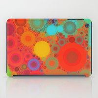 circles iPad Cases featuring Circles by Mr and Mrs Quirynen