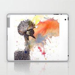 Crowned Crane Laptop & iPad Skin
