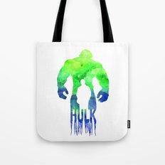 The Hulk  Tote Bag