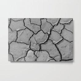 Fractured Land Metal Print