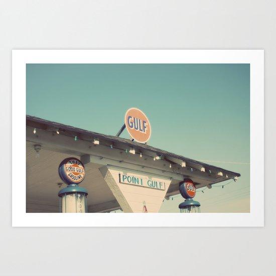 gulf Art Print