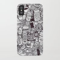 food iPhone & iPod Cases featuring FOOD by Candice Soon