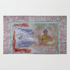 Buddha Collage - JUSTART (c) Rug