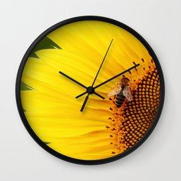 Vibrant Sunflower Wall Clock
