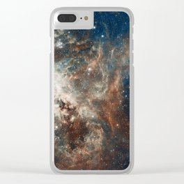 Space Art - Hubble Telescope - Nebula Clear iPhone Case