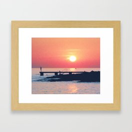Lost Summer Framed Art Print