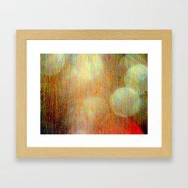 7000 ft light Framed Art Print