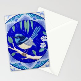 Blue Wren Beauty Stationery Cards