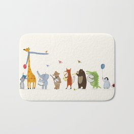 little parade Bath Mat