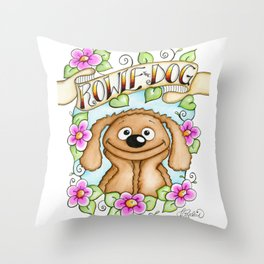 The Muppets Series ~ Rowlf the Dog Throw Pillow