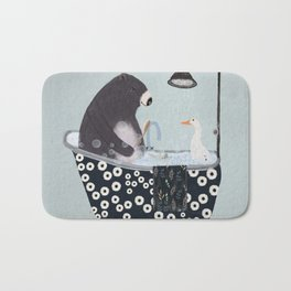 bath time Bath Mat
