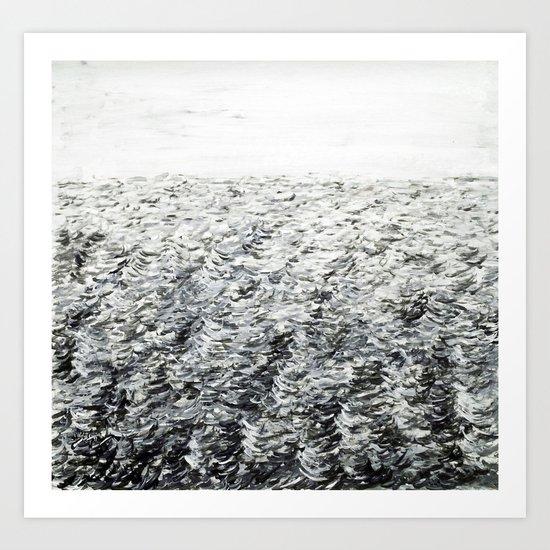 LA MER Art Print