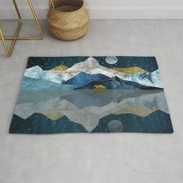 Wild North Blues Night Rug