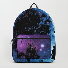 Girl watching the stars  Backpack