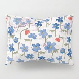 Blue Anemone - Springflowers Pillow Sham