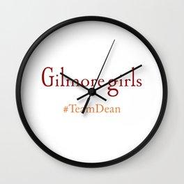 Gilmore Girls - Team Dean Wall Clock