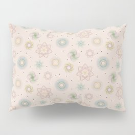 updated spirograph Pillow Sham