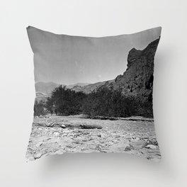 FURNACE CREEK, DEATH VALLEY, CALIFORNIA Throw Pillow