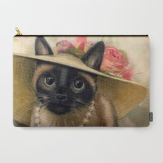 Lady Cat Carry-All Pouch