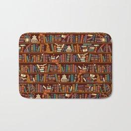 Bookshelf Bath Mat