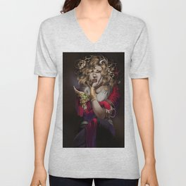 Lost in Thought Unisex V-Neck