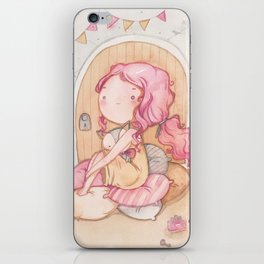Hobbit Girl iPhone Skin