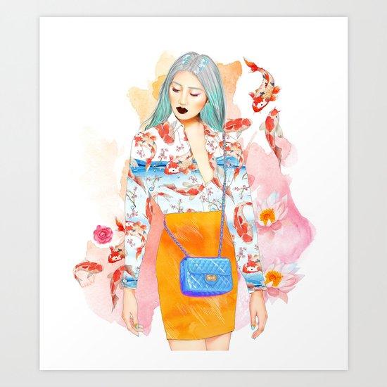 KoyLily Art Print