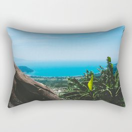 View over the Coast of Central Vietnam Rectangular Pillow