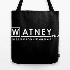 Watney Ph.D. Tote Bag