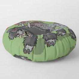 Parasite Poodle Floor Pillow