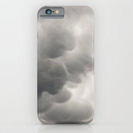 Mammatus Clouds 2 iPhone Case