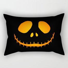 Black Jack Rectangular Pillow