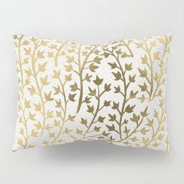 Gold Ivy Pillow Sham